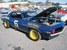 1969 Chevrolet Camaro coupe Z/28 Mark Donohue Sunoco Trans Am Racer