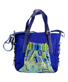 Another great find on #zulily! Jazz Cobalt Pretty Tote #zulilyfinds