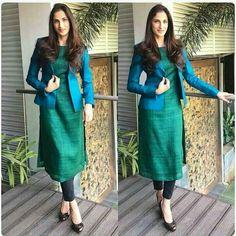 How to Make a Ethnic Dress Modern ? Indian Fashion Dresses, Indian Outfits, Fashion Outfits, Saree Fashion, African Fashion, Churidar Designs, Kurta Designs Women, Blouse Designs, Designer Saree Blouses