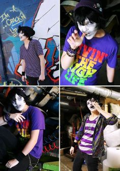 Homestuck gamzee cosplay. Ugh, love this. I don't know this kid, sorry if this is creepy, but damn child.
