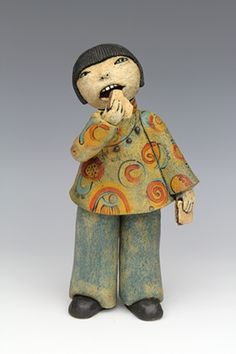 clay ceramic sculpture by sara swink http://saraswink.com/artwork/2725418_Sandwiches.html
