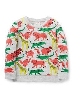Boys Tops & Tees   Animal Sweater   Seed Heritage