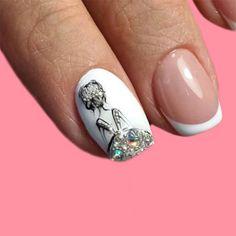 nail beauty- show you all kinds of nail desins and ideas for lady's beauty: beautiful nails, nail art, nail care, nail art designs, nails and beauty Acrylic Nail Designs, Nail Art Designs, Acrylic Nails, Nail Tips, Nail Ideas, Girls Nails, Dream Nails, Us Nails, Bling Nails