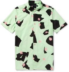 Marc by Marc Jacobs - Printed Short-Sleeved Cotton Shirt|MR PORTER