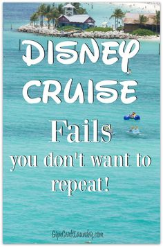 My EPIC Disney Cruise FAILS. Read these Disney Dream Cruise tips so you don't regret all the things you failed to do during your magical Disney Cruise Line vacation! Cruise Tips, Cruise Travel, Cruise Vacation, Disney Vacations, Vacation Trips, Disney Travel, Family Vacations, Vacation Destinations, Family Trips
