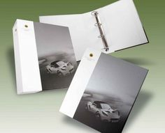 Lotus Ring Binder and Slipcase - a creative packaging solution produced by Cedar Packaging