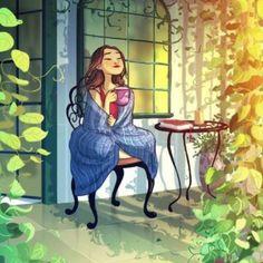 Diese Künstlerin zeigt die schönen Seiten des Alleinseins
