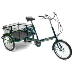 No idea what I'd carry on this, but I love it, particularly the color. Loadstar Tricycle