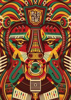Posts about Graphic design written by nationalgalleryofjamaica Reggae Poster, Reggae Art, Reggae Music, Bob Marley Kunst, Bob Marley Art, Rasta Tattoo, Tribal Letters, Rastafari Art, Rasta Art