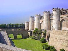 Castillo de Aljafería, Zaragoza, España