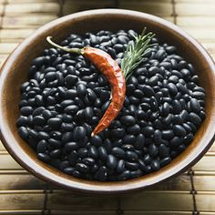 A cup of black beans packs a whopping 15 grams of satisfying protein and doesn't contain any of the saturated fat found in other protein sources, like red meat.