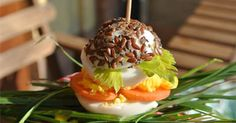 micro burger by Kiki Pelosi #dogfood #dogrecipe #semidilino #protein #healthyfoodfordogs #km0 #petparty #petpartyplanner #sararicci  discover my pet recipes on www.kikipelosi.com