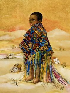 'continents at drift' - Touches the world | by -Girofla- is a team of two artists: Eliane and Monique |magic of innocence, between different natural and cultural backgrounds |exoticism and poetry in the world of children~