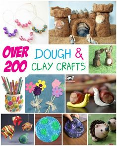 Over 200 Dough and Clay Crafts - Fun Family Crafts