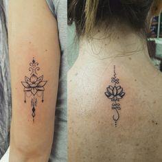 Loto mandala tattoo