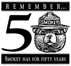 Smokey Bear - Remember ... Smokey Has For Fifty Years - 1994