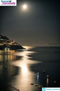 Isn't it beautiful?   It's Full Moon over the Greek Islands.   For more travel updates be connected to  Travel Universally