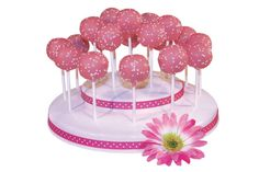Popztee Cake Pop Stand- Decoratively Versatile (customizable) with optimal spacing and layout for perfect pop display Reusable, Durable, and Stackable For Easy Storage Capacity - 19 Pops No Assembly required and is Dishwasher Safe Cake Pop Halter, Decorating Tools, Cake Decorating, Cupcake Mickey, Babyshower, Porta Cupcake, Cake Pop Displays, Cake Pop Stands, Cake Pops How To Make