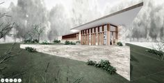 Tour Frank Lloyd Wright's Final (Unbuilt) House Design With this 3D Model