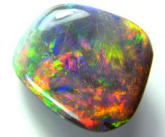 AAA QUALITY FIERY BLACK OPAL RED GEM GRADE 9.90 CTS TB-5