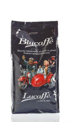 Lucaffé Blucaffè Espresso, Whisky, Arabica, Packaging, Coffee, Food, Wine, Coffee Beans, Chocolate