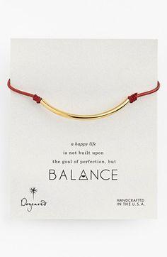 Dogeared 'Balance' Bracelet