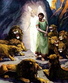 God Rescued Daniel from the Lions' Den, and He Can Rescue You from Satan, who walks around like a roaring lion.