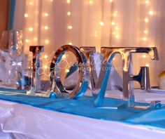Words & Letters :: The Word - Love :: Love Sign Silver - The Beautiful Wedding Shop