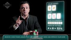Joe will teach you great strategies on playing poker