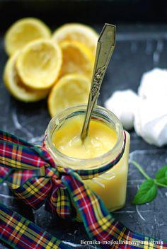 lemon curd, bernika, moj kulinarny pamietnik