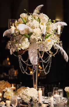 Alle + Brian | Bob Bullock History Museum | Jake Holt | New Year's Eve Wedding | Westbank Flowers | White Wedding Flowers | Table Settings | Tall Centerpieces | Wedding and Events Blog | Pearl Events Austin