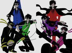 Osomatsu-san- Osomatsu, Karamatsu, Choromatsu, Ichimatsu, Jyushimatsu, and Todomatsu #Anime「♡」Mafia