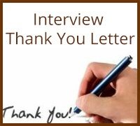 thanks letter for interview