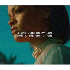 Rihanna Needed Me lyrics