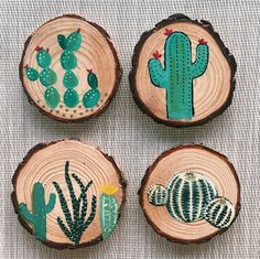 This can be used as a coaster or ornament. The smaller size is best for ornament because they are thinner and more lightweight. The larger size is best for a coaster. Please take a second to view the rest of the pieces in the shop! You may also follow my journey on instagram at