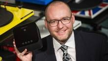 Mass Fidelity raised more than $1-million for its wireless Bluetooth speaker, says co-founder Ben Webster. Now he wants to develop a sales team and go international. (Mark Blinch For The Globe and Mail)