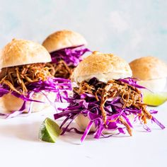 Pulled Pork Sliders Easy Pulled Pork, Pulled Pork Sliders, Healthy Pulled Pork, Healthy Cooking, Cooking Recipes, Eat Healthy, Healthy Meals, Crockpot Recipes, Healthy Recipes