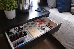 New diy organization bedroom life hacks bedside tables Ideas