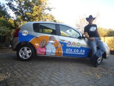 """Karl-Heinz: """"The Cowboy's new branding courtesy of Brandyourcar.com and OLX South Africa. Definitely draws attention on the road!!!"""""""