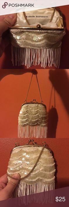 Selling this Banana Republic Vintage Style Purse on Poshmark! My username is: jennbonenfant77. #shopmycloset #poshmark #fashion #shopping #style #forsale #Banana Republic #Handbags