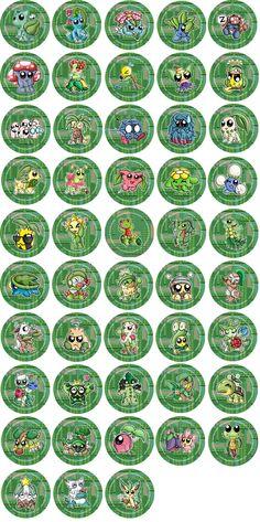 grass type pokemon badges by redpawdesigns on deviantart
