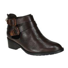 Bota Ramarim 14-50101 - Marrom (Bio Light Soft) - Calçados Online Sandálias, Sapatos e Botas Femininas | Katy.com.br