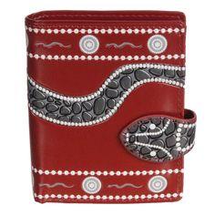 Shagwear Cat Checkers Large Bifold Zipper Wallet
