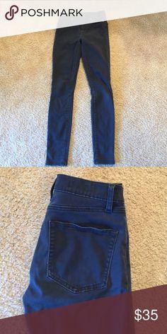 Gap high rise skinny High rise GAP skinny jeans. Navy Blue GAP Jeans Skinny