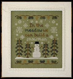 In The Meadow pattern by Country Cottage Needleworks