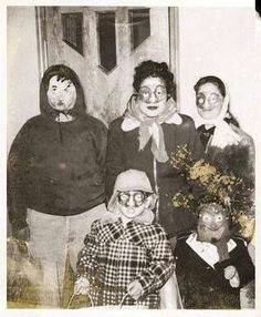 When Halloween was much more creepy