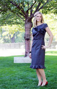 Sew Much Ado: My Anthro Inspired Dress