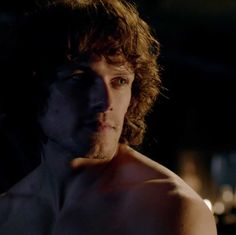 Jamie (Sam Heughan) on his wedding night in Episode 107 of Outlander on Starz via http://tvmz.lifeis-caps.com/photos/thumbnails.php?album=252&page=31