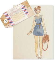 Fashion Illustration - Eau de Parfum Chloé