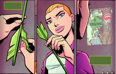 young justice wally and artemis - Google Search